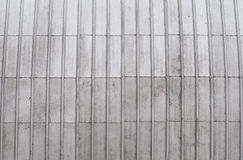Zinc roof stock photo