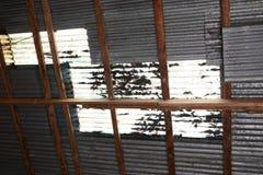 Zinc roof Stock Images