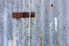 Zinc rust Stock Photo