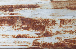 Zinc rust texture Stock Images