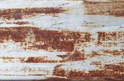 Zinc rust texture Stock Images