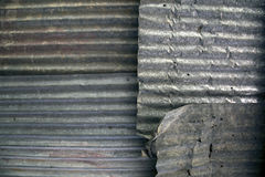 Zinc sheets Royalty Free Stock Photography