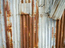 Zinc texture Stock Photography