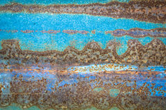Zinc texture - rusty Royalty Free Stock Image