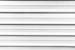 Zinc Wall. B & W Zinc Wall of construction Royalty Free Stock Photos