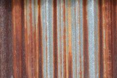 Zinc wall Stock Photography