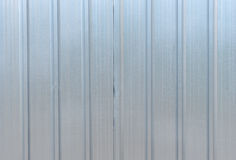 The zinc wall Stock Photography
