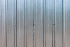 The zinc wall Royalty Free Stock Photo