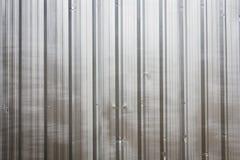 The zinc wall Royalty Free Stock Photos