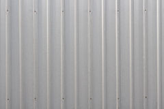 Zinc wall background. Vertical view Stock Image