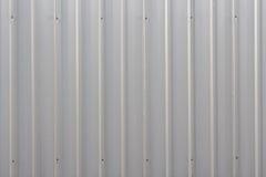 Zinc wall background Stock Image