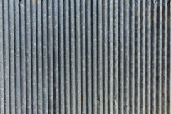 Zinc Wall Construction Texture Background in Bangkok Thailand Royalty Free Stock Photo