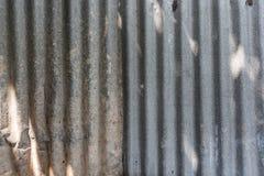 Zinc Wall Stock Photo