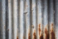 Zinc wall Stock Photos