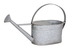 Zinc watering can, isolated Stock Photos