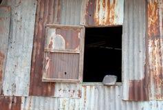 Zinc window Stock Images