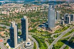 Zincirlikuyu District in istanbul Royalty Free Stock Photos