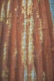 Zinco com oxidação Foto de Stock