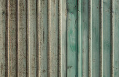 Zinco oxidado Imagens de Stock Royalty Free