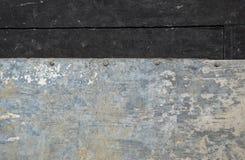 Zinco oxidado velho Foto de Stock