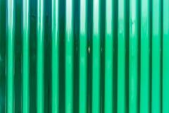 Zinco verde da folha do fundo Imagens de Stock