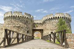 Zindan Gate Inside Belgrade Fortress, Belgrade, Serbia Stock Image