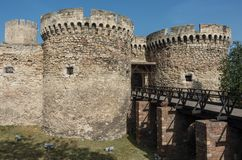 Zindan Gate Kapija Complex, Kalemegdan Fortress, Belgrade. Serbia Stock Photography