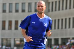 Zinedine Zidane Immagine Stock