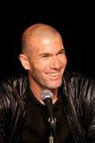 Zinedine Zidane Imagens de Stock