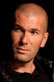 Zinedine Zidane. French soccer star Zinedine Zidane at press conference Royalty Free Stock Photography