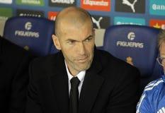Zinedine Zidane de Real Madrid Image libre de droits