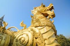 Zing Ha-standbeeld oud voorwerp in Thailand Royalty-vrije Stock Foto