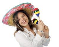Zing Mexicaan! Stock Foto's