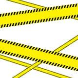 Zing op witte achtergrond De zwarte en geel zingt op volledige achtergrond stock illustratie