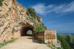 Zingaro природного заповедника, Сицилия, Италия стоковое фото