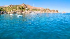 Zingaro National Park, Sicily, Italy Royalty Free Stock Image