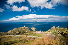 Zingaro Natural Reserve, Sicily Royalty Free Stock Image