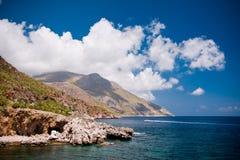 Zingaro Natural Reserve, Sicily Stock Image