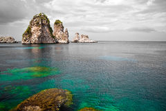 Zingaro Natural Reserve, Sicily Royalty Free Stock Photography