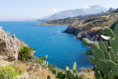 Zingaro Nature Reserve, Sicily Stock Photos