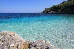 Zingaro Reserve Italy Sicily (a Creek) Stock Photo