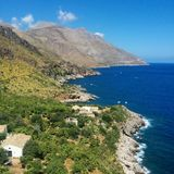 Zingaro rezerwat przyrody Obraz Royalty Free