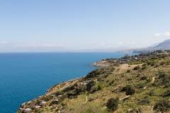 Zingaro rezerwat przyrody Obrazy Royalty Free