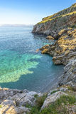 Zingaro Rocky  Coastline, Sicily, Italy Royalty Free Stock Image