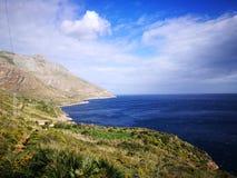 Zingaro van Riservadello bos en marien beschermd gebied Royalty-vrije Stock Afbeelding