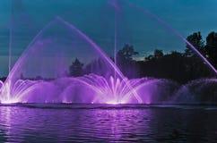 Zingende fontein Stock Foto
