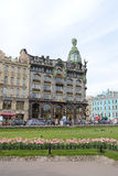Zinger House on Nevsky Prospect. Stock Image