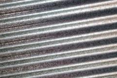 Zink galvanisierte gewölbte Metallbeschaffenheitsdiagonale lizenzfreie abbildung