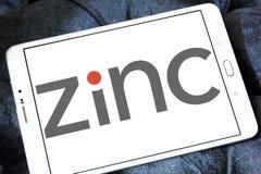 Zinklogo Fotografering för Bildbyråer