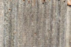 Zinkroest Zinktextuur en Achtergrond De oude muur van het schade roestige zink plat royalty-vrije stock foto